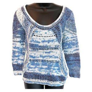 Rag & Bone Blue Knit Sweater - Sz M